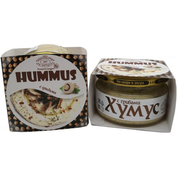 Хумус с грибами